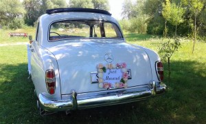 Oldtimer Mercedes benz 1958 wedding cars for hire in croatia antropoti concirge service vip sp