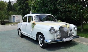 Oldtimer Mercedes benz 1958 wedding cars for hire in croatia antropoti concirge service vip sp (4)