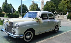Oldtimer Mercedes benz 1958 wedding cars for hire in croatia antropoti concirge service vip sp (5)