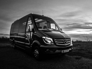 antropoti rent a car Mercedes Sprinter 519 VIP luxury travel vip tour