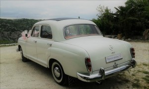 oldtimer cars mercedes benz 1958 wedding cars antropoti concierge weddings in croatia 1024